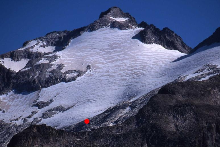 Glaciar de Aneto - 12/08/2002